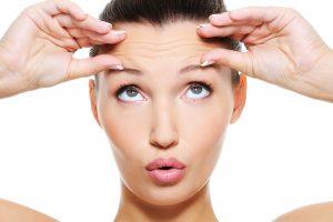 woman after eyebrow waxing in brooklyn